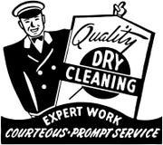 Nettoyage à sec de qualité Photos stock