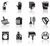Nettoyage Images libres de droits