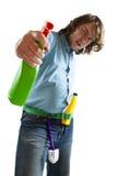 Nettoyage Photographie stock libre de droits