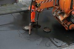 Nettoyage d'égout Photo libre de droits