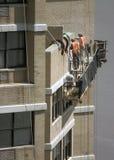 Nettoyage d'une construction Image libre de droits