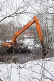 Nettoyage de la rivière de Malashka Images stock