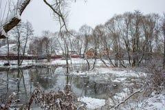 Nettoyage de la rivière de Malashka Photographie stock libre de droits