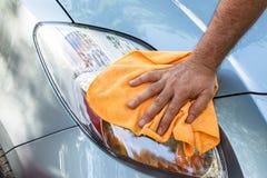 Nettoyage de la voiture Image libre de droits