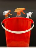 Nettoyage de ménage photo stock