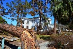 Nettoyage de Michael d'ouragan photos libres de droits