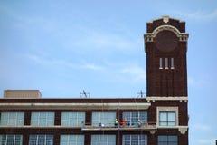 Nettoyage de vitres industriel image libre de droits