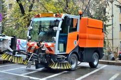 Nettoyage des rues Photos stock