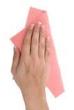 Nettoyage du Tableau image stock