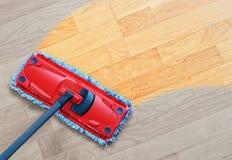 Nettoyage en stratifié Images stock