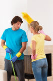 Nettoyage ensemble photo stock