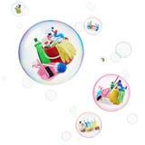 Nettoyage et toilettage Photographie stock libre de droits