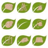 Nettoyage organique Photo libre de droits