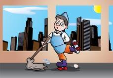 Nettoyage rapide Photo stock