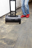 Nettoyage à sec des tapis Photographie stock libre de droits