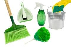 Nettoyage vert Photos stock