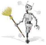 Nettoyeur de robot illustration libre de droits