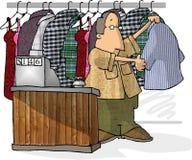 Nettoyeurs à sec Image stock