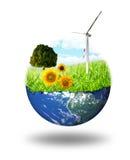 nettoyez l'énergie de concept Images libres de droits