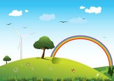 nettoyez l'énergie de concept illustration libre de droits