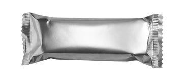 Nettoyez l'aluminium d'emballage photographie stock