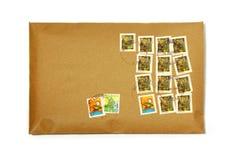Nettoyez l'enveloppe Photos stock