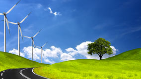 Nettoyez l'environnement Photo libre de droits