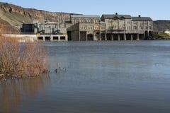 Nettoyez l'hydroélectricité Images libres de droits