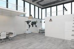 Nettoyez l'intérieur de bureau illustration libre de droits