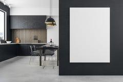 Nettoyez la cuisine avec le copyspace Photos libres de droits