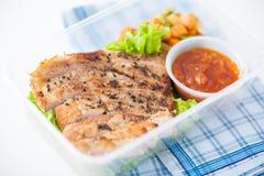 Nettoyez la gamelle de nourriture Images stock