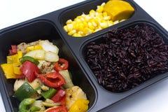 Nettoyez la nourriture Images libres de droits
