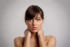 Nettoyez la peau de pureté images stock