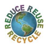 Nettoyez la planète Photos stock
