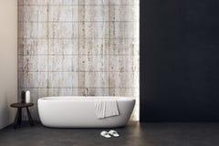 Nettoyez la salle de bains avec le copyspace Photo stock