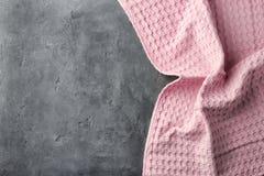 Nettoyez la serviette de cuisine image stock