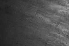 Nettoyez la surface de panneau de craie Conseil noir avec un ?clat m?tallique Fond m?tallique Fond noir vide pour la conception n photographie stock