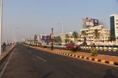 Nettoyez la ville de l'Inde Image stock