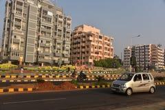 Nettoyez la ville Visakhapatnam Images stock