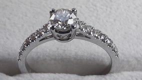 Nettoyez le diamant Image stock