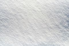 Nettoyez le fond blanc comme neige de neige images libres de droits