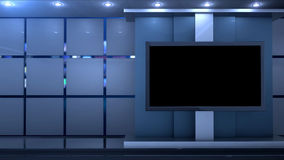 Nettoyez le fond virtuel de studio Illustration de Vecteur