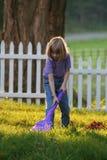 Nettoyez le monde un yard à la fois Images stock