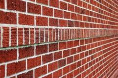 Nettoyez le mur de briques Image libre de droits
