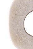 Nettoyez le papier hygiénique blanc. photographie stock