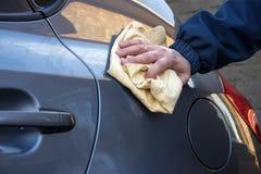 Nettoyez le véhicule Image stock