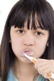 Nettoyez les dents Photo libre de droits