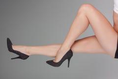 Nettoyez les jambes Photos stock
