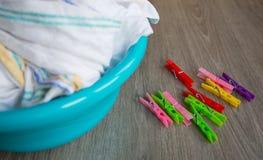 Nettoyez les vêtements Photographie stock libre de droits