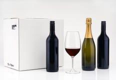 Nettoyez les vins de peau Photos libres de droits